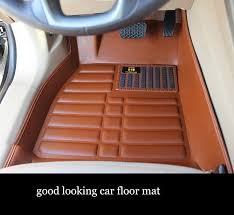 Honda Accord Floor Mats 2007 by Leather Car Floor Mats For Honda Civic Crv Fit Accord Hrv Vezel Jazz