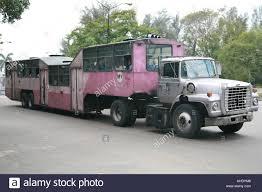 100 Truck And Bus Havana Cuba Camello A Public Bus Made Out A Truck Called Camello