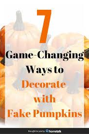 Fake Carvable Pumpkins by Die Besten 25 Fake Pumpkins Ideen Auf Pinterest Ferien Tisch
