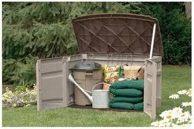 Suncast Garden Shed Taupe amazon com suncast gs1000b horizontal storage shed 20 cubic ft