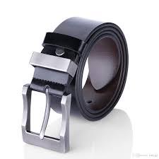 men u0027s belt reversible business casual belt for men with pin buckle