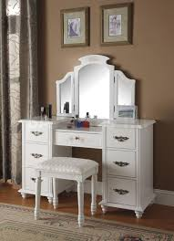 Makeup Vanity Table With Lights And Mirror by Antique Dresser Vanity Set With Lighted Mirror Makeup Within