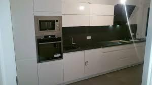 nolte atlanta grifflos echt lackiert küchen inkl e gerät