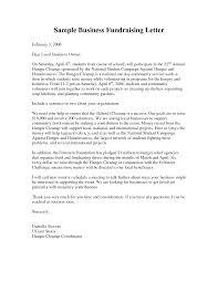 Business Fundraising Letter Sample Fundraising Letters For Silent