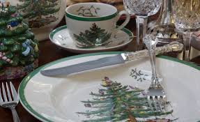 Spode Christmas Tree History by The Dish 2015 Holiday Newsletter
