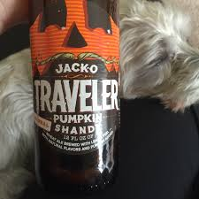 Travelers Pumpkin Beer by Oreos The Vegan Treasure Hunter