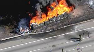 Tanker In Fiery Crash Was Carrying 8,500 Gallons Of Gas | 6abc.com Russian Truck Gas Explosion Hd Tanker Truck Fire Kills More Than 100 People In Gerianile Tanker Fire Kills Driver Temporarily Shuts Down I270 And Us Explodes Closing I94 Near Detroit Chicago Tribune Overturned Causes Massive Atwater Driver Dies At The Scene Propane Gas Explosions In Jackson Hole Wy At Amerigas Nevada County Wreck Update Authorities Recover Victims Of Fatal Arrested Umvoti Drivers Released Zuland Obsver Explosion Gnville The Daily Gazette Injuries From Modern Sales Pittston Pa Watch A Fuel Burst Into Massive Fireball On Louisiana Energy Accidents Wikipedia