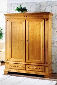schrank kleiderschrank schlafzimmer fichte massiv landhausstil antik lackiert lanatura