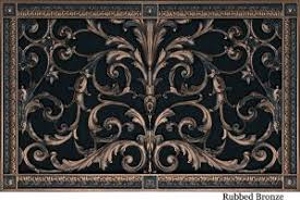 decorative return air filter grille beaux arts classic products