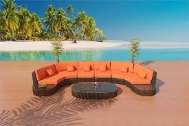 Outdoor Sectional Sofa Set by Bellagio Bronze Sofa Outdoor Patio Furniture Set 32