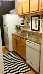 Decorating A Small Tiny Kitchen In Apartment