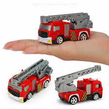 Dropshipping For Creative ABS 1:58 Mini RC Fire Engine With Remote ...