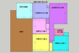 4 Bedroom House Layout Design 8 X 12