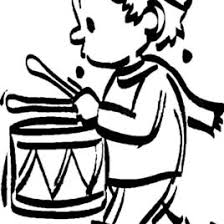 Drummer Boy Concentrate Beating Drum Coloring Pages Kids Play Color