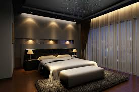modern bedroom designs with good master bedroom idea with curtains