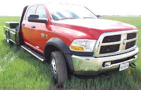 2012 Dodge Ram 5500 Quad Cab Flatbed Pickup Truck Image | Auction ...