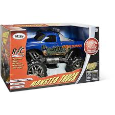Eztec Radio Control Monster Truck 1:10 Scale - Assorted* | BIG W Daymart Toys Remote Control Max Offroad Monster Truck Elevenia Original Muddy Road Heavy Duty Remote Control 4wd Triband Offroad Rock Crawler Rtr Buy Webby Controlled Green Best Choice Products 112 Scale 24ghz The In The Market 2017 Rc State Tamiya 110 Super Clod Buster Kit Towerhobbiescom Rechargeable Lithiumion Battery 96v 800mah For Vangold 59116 Trucks Toysrus Arrma 18 Nero 6s Blx Brushless Powerful 4x4 Drive