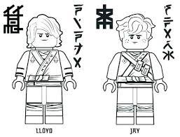 Lego Ninjago Coloring Sheets Pages