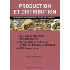 livre de cuisine cap production et distribution cap apr eleve broché meiller