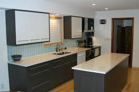 glass tile backsplash install vapor glass subway tile kitchen