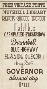 The Bold Vintage Fonts And Tea Stained Effect On Background Has A Cool Rustic