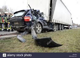 100 Porsche Truck A SUV Is Stuck Under A Truck On The Federal Road 30 Between