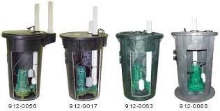 Basement Bathroom Sewage Ejector Pump by Zoeller Sewage Sump Pump Packages