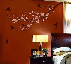 Decorative Wall Painting Ideas For Bedroom Business Techniques 2018 Also Attractive Style Of