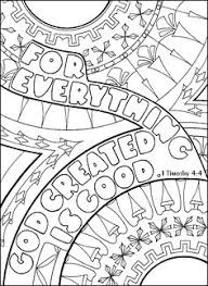 1 Timothy 4 ABDA ACTS Arts And Publishing Coloring Page