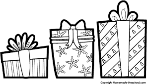 475x273 Christmas black and white christmas present clipart black and