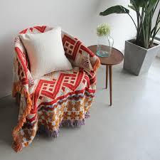 100 baumwolle böhmen tapestry decke für sofa abdeckung wohnzimmer schlafzimmer teppich sofa kelim decke türkische ethnische muster