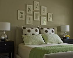 Stunning Soft Green Quilt For Queen Spring Bed Added White Portray Frames Hang On Gray Wall