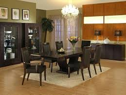 Luxurious Dining Room Sets Marvelous Decoration Black And Brown