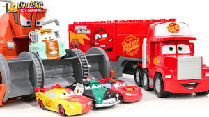 Learning Color Special Disney Pixar Cars Lightning McQueen Mack ... Disney Pixar Cars Mack Truck Playset Story Set W Trex Jurassic Buy Ftt93 Incl Shipping Kelebihan 2 Toys 2pcs Lightning Mcqueen 3 Travel Time Shop Your Way Online For Children Kids Car Disney Cars Unboxing Pinterest Remotecontrolled 124 Amazoncom Disneypixar And Transporter Games Hauler With Diecast Cruising Super The Warehouse