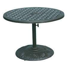 Darlee Patio Furniture Quality by Shop Darlee Series 30 30 In W X 30 In L Round Iron Coffee Table At