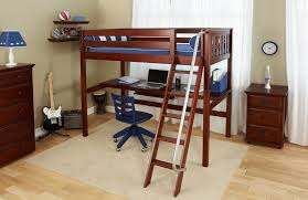 Low Loft Bed With Desk And Dresser by The Kicks Best Selling Low Loft With Dresser Bookcase U0026 Angled
