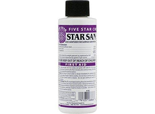 Star San No Rinse Sanitizer - 4oz