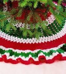 Crocheted Christmas Tree Skirt