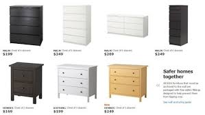 Ikea Mandal Dresser Canada by Ikea Malm Chest Of Drawers To Be Recalled In The Us But Not In
