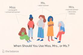 Business Etiquette When To Introduce Someone As Miss Mrs Or Ms