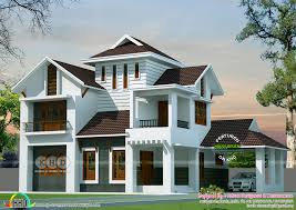 100 Modernhouse Roof Idea Sloping Roof Style Modern House Square Feet Home Designs