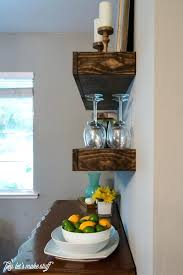 Dining Room Shelves Build Some Chunky Floating Both Beautiful And Practical Diy