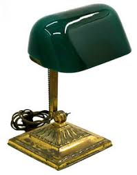 Vintage Bankers Lamp Ebay by 7739 Double Knuckle Emeralite Bankers Lamp Ebay