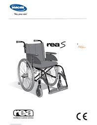 Invacare Transport Chair Manual by Invacare Rea Spirea 4 Ng User Manual Download In Pdf