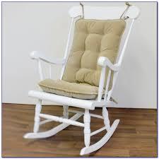 Nursery Chair Cushions | Splendid Wooden Rocking Chair For ...