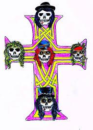 Axls Cross Tattoo By