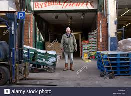100 Hull Lift Truck A Fruit Trader Outside His Warehouse In Stock Photo 25771143