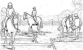 Realistic Horse Coloring Pages Inspirational Or Jumping Page My Blog