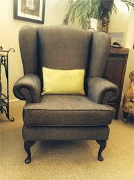 Lovable Oversized Wingback Chair Slipcovers As Well Wing Back Cover Gallery