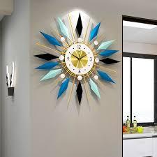 europäischen stil licht luxus uhr wanduhr wohnzimmer